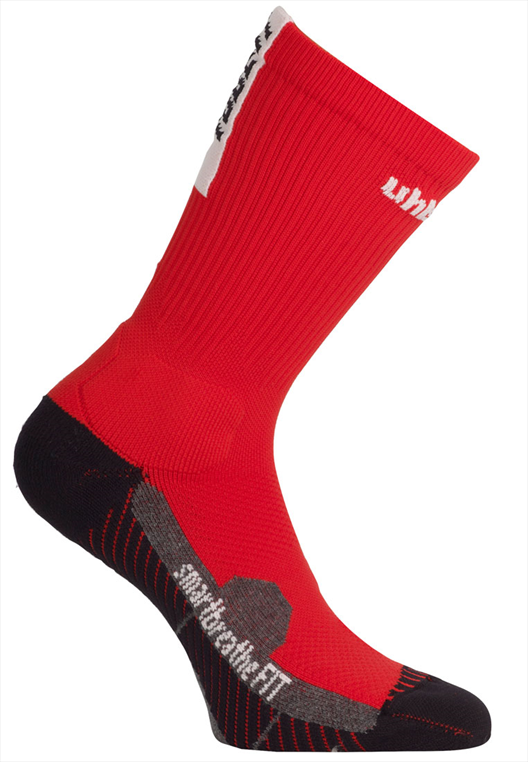 Uhlsport Socken Tube It rot/schwarz