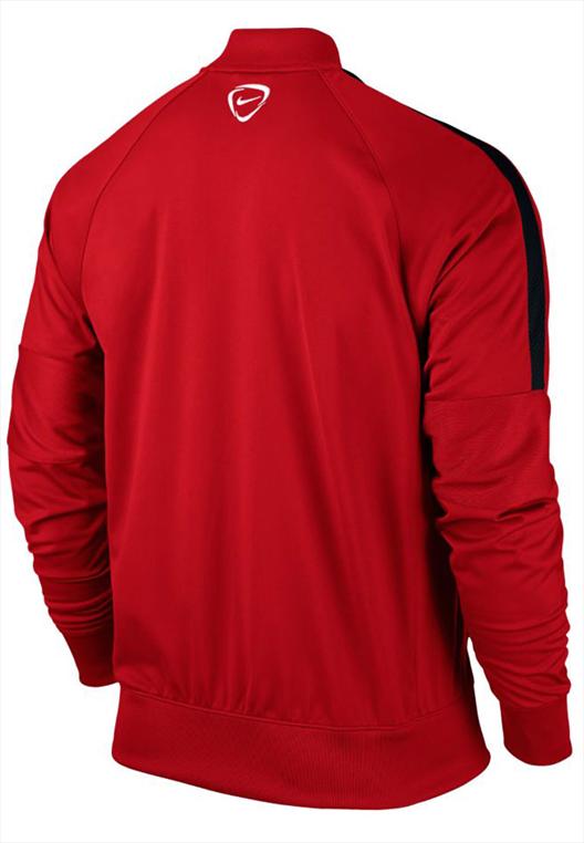 Nike Trainingsjacke Squad 15 Sideline Knit rot/schwarz