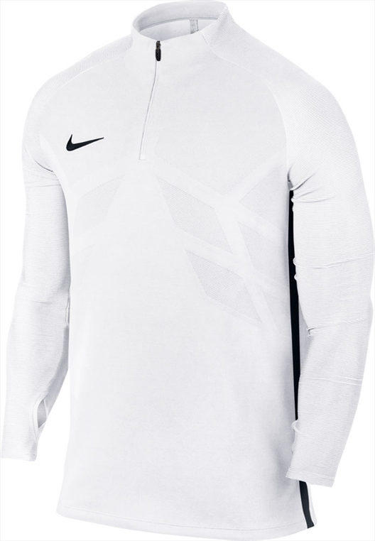 Nike Trainings Top AeroSwift Strike Drill Top weiß/schwarz