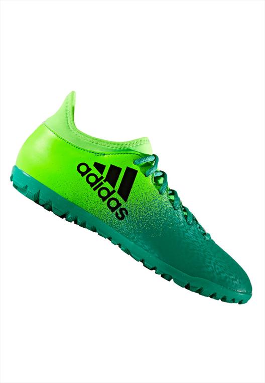 adidas Fußballschuh X 16.3 TF Kunstrasen grün fluo/grün