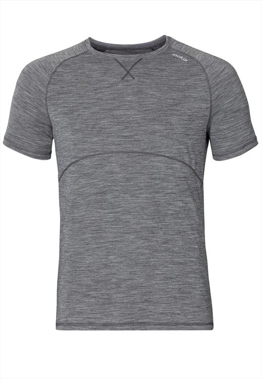 Odlo Shirt Sleeve Crew neck Revolution light grau