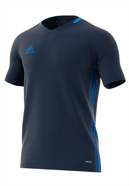 adidas Trainingsset Condivo 16 4-teilig dunkelblau/hellblau