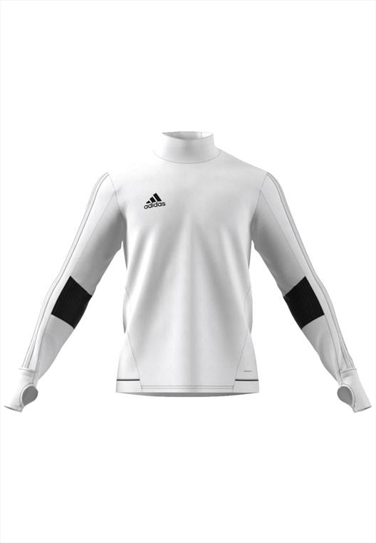 adidas Sweater Tiro 17 Training Top weiß/schwarz