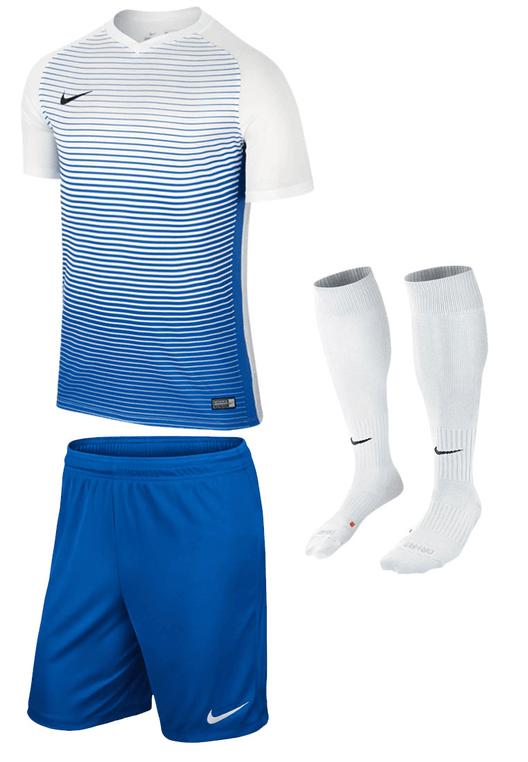 Nike Dressenset Precision blau/weiß
