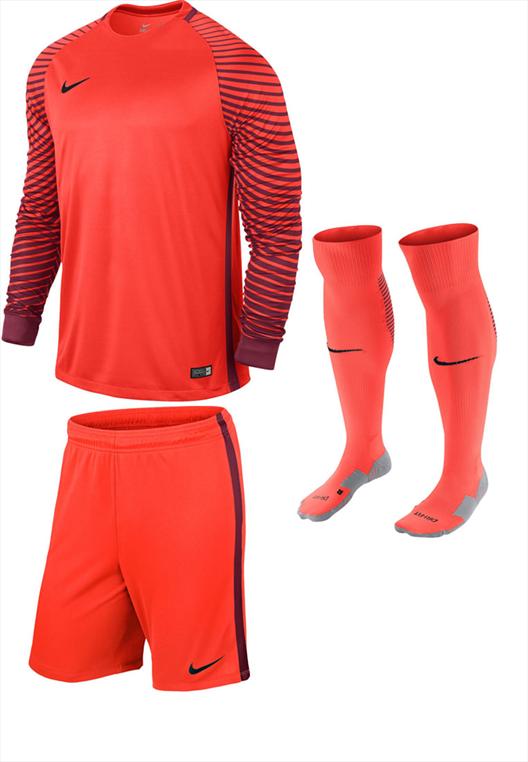 Nike Torwartset 3-teilig pink/schwarz