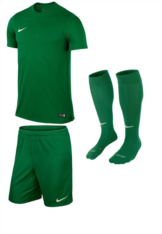 Nike Dressenset Park IV grün/weiß