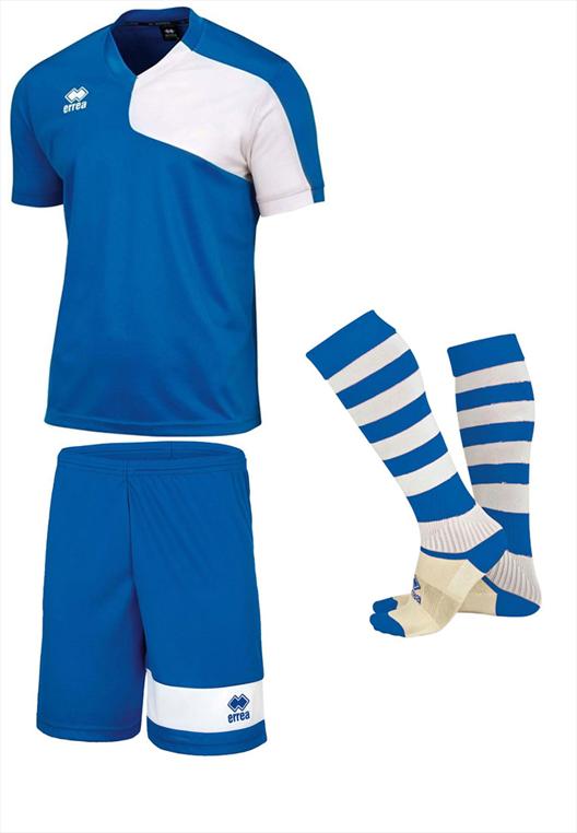 Errea Dressenset Marcus hellblau/weiß