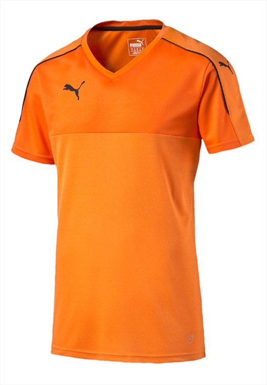 Puma Shirt Accuracy Shortsleeved orange/schwarz