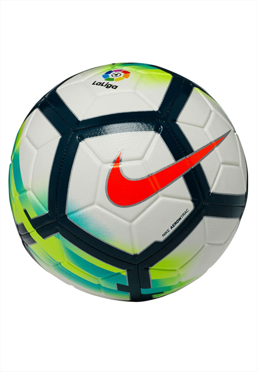 Nike Fußball Strike La Liga Größe 5 weiß/türkis