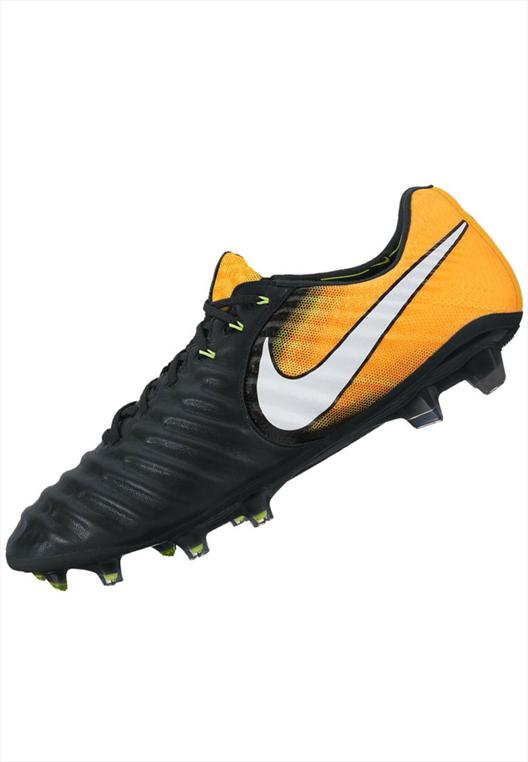 Nike Fußballschuh Tiempo Legend VII FG Pro orange fluo/schwarz
