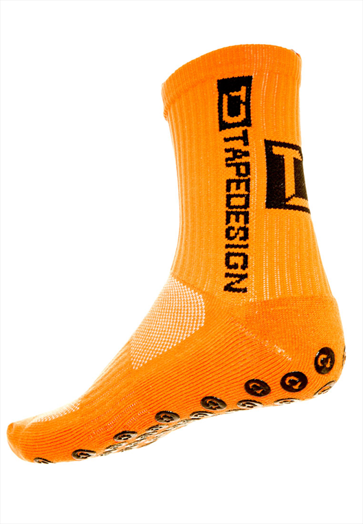 TapeDesign Socken Anti-Slip Socks TD orange/schwarz