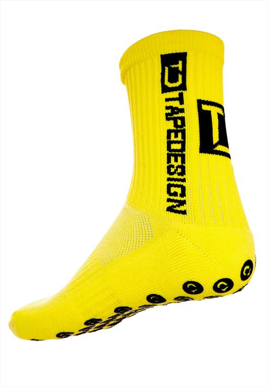 TapeDesign Socken Anti-Slip Socks TD gelb/schwarz