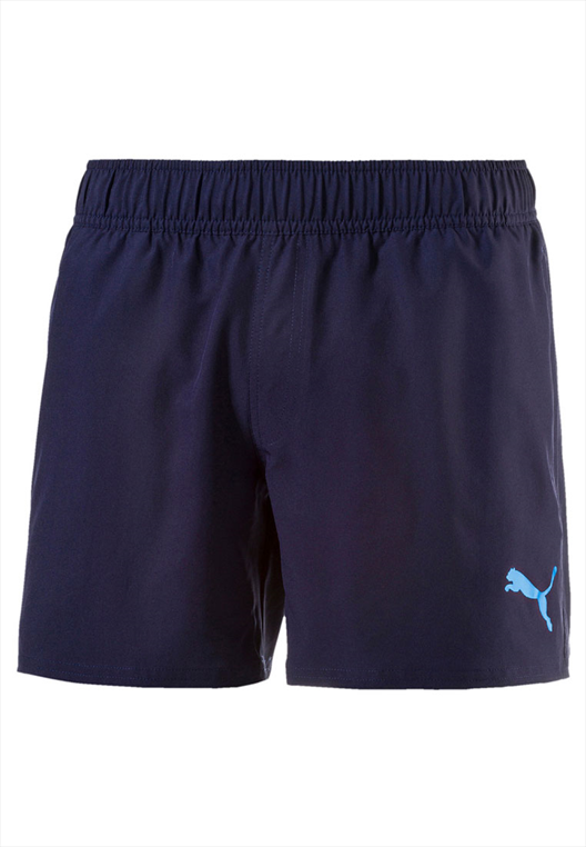 Puma Short Style Summer dunkelblau/hellblau