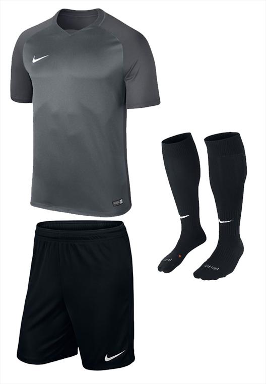 Nike Dressenset Trophy grau/schwarz