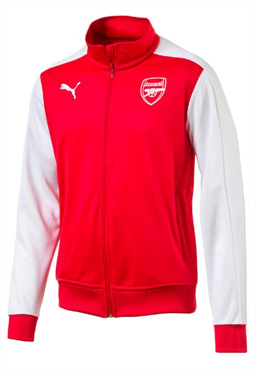 Puma FC Arsenal Trainingsjacke T7 Jacket rot/weiß