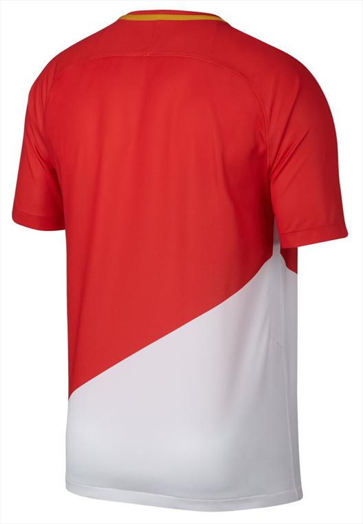 Nike AS Monaco Herren Heim Trikot 2017/18 rot/weiß