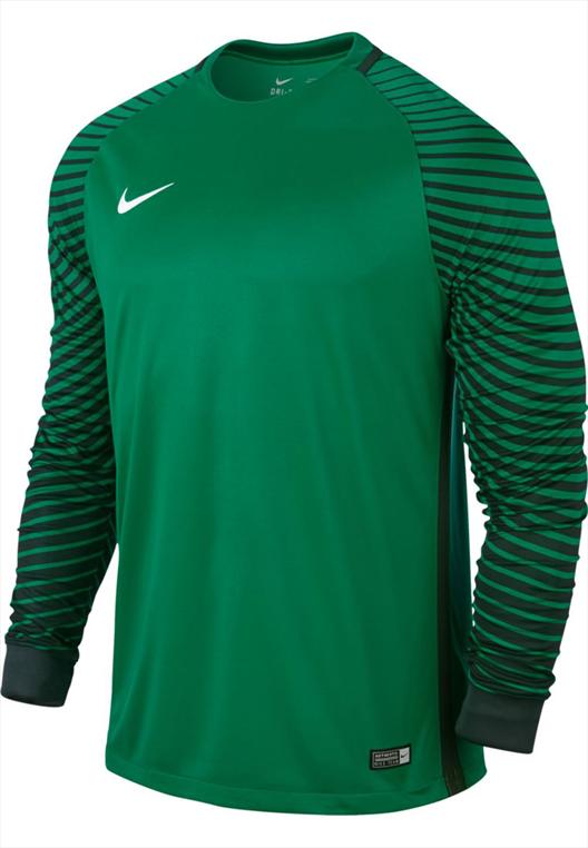 Nike Langarm Torwartshirt Gardien grün/schwarz