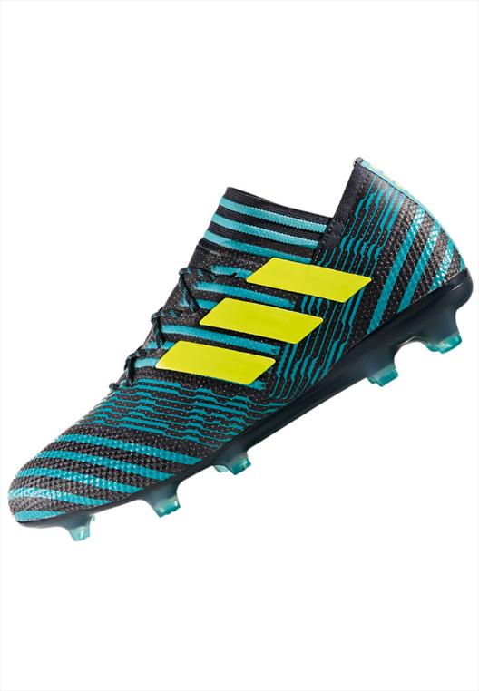 adidas Fußballschuh Nemeziz 17.1 FG schwarz/türkis