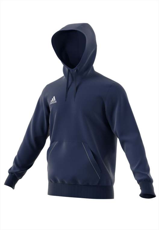 adidas Hoody Core 15 dunkelblau/weiß