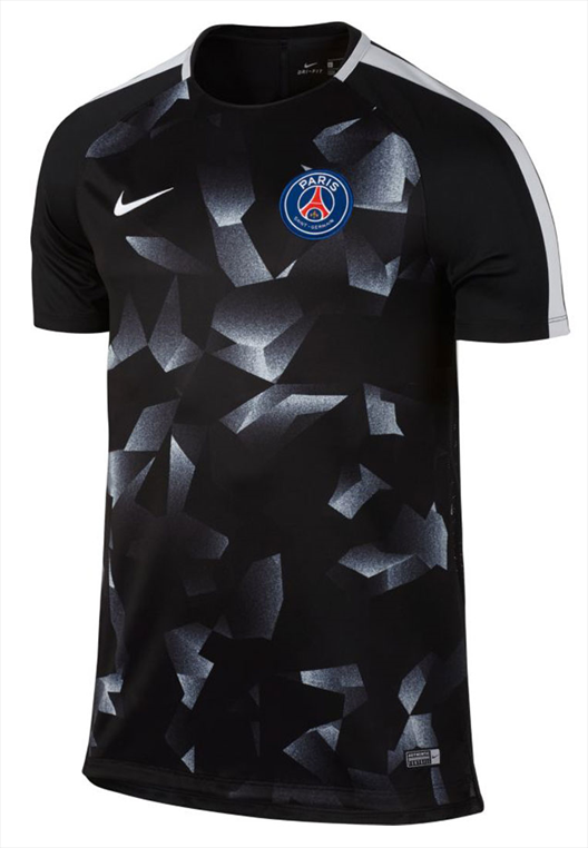 Nike Paris St. Germain Trainingsshirt Squad Top schwarz/weiß
