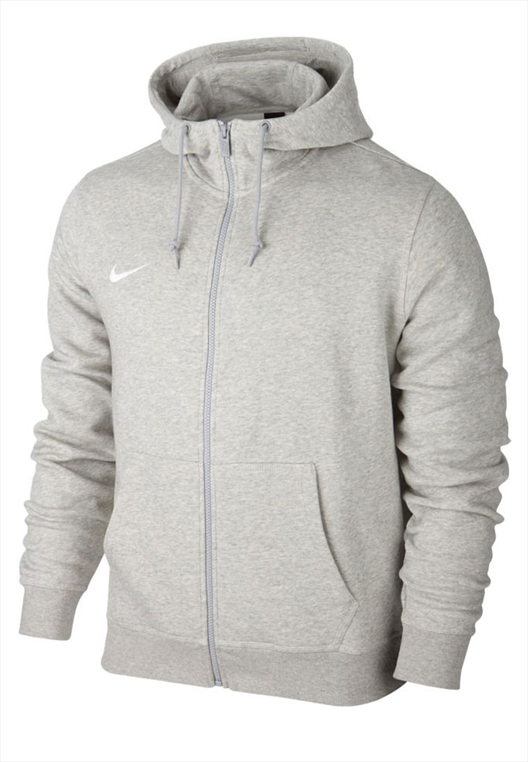 Nike Team Club Kapuzenpullover Hoody grau/weiß