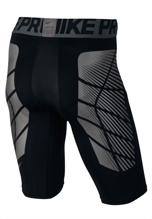 Nike Funktionsshort Pro Hyperstrong Slider schwarz/silber