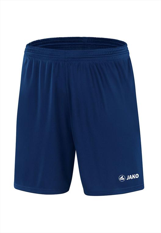 Jako Sporthose Manchester ohne Innenslip mit Jako Logo dunkelblau