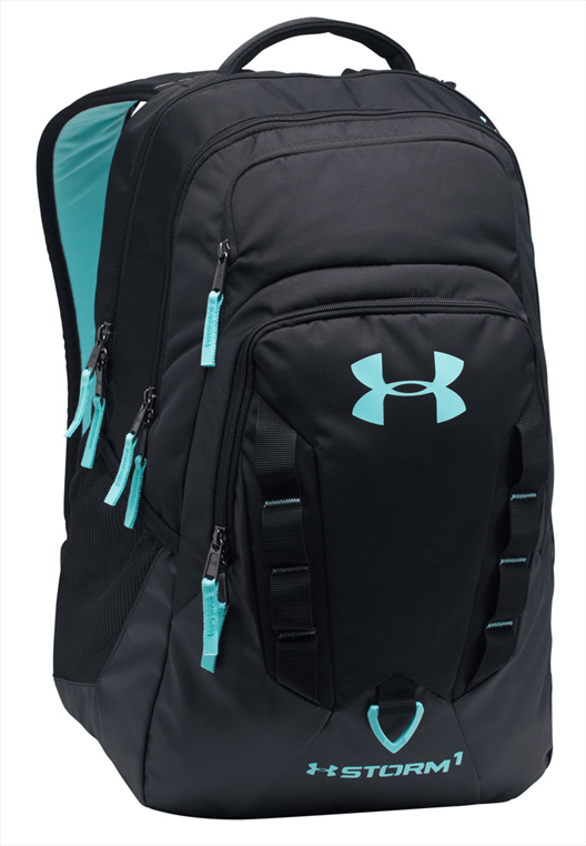 Under Armour Rucksack Recruit schwarz/türkis