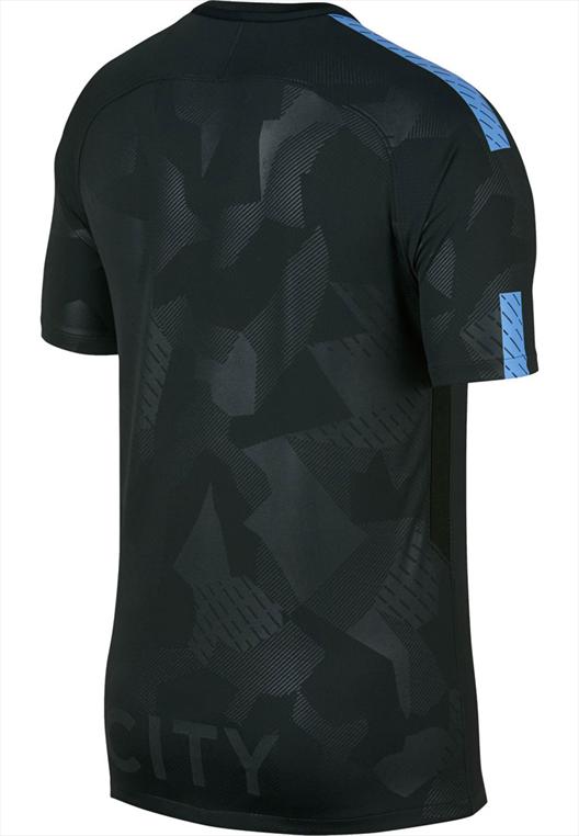 Nike Manchester City Herren Champions League Trikot 2017/18 dunkelgrün/hellblau