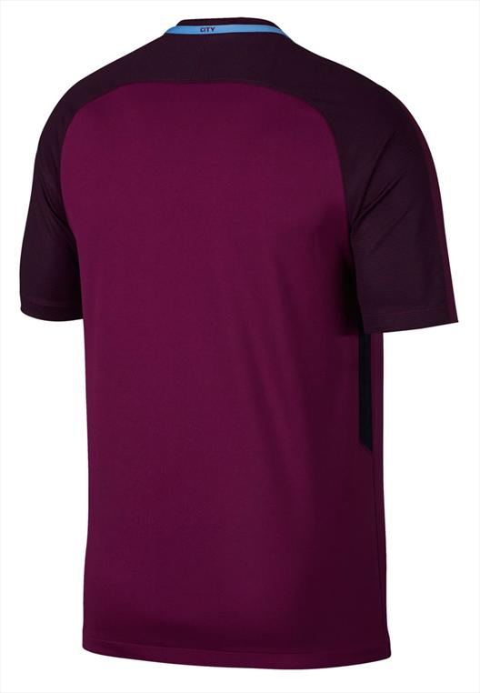 Nike Manchester City Auswärts Trikot 2017/18 violett/weiß