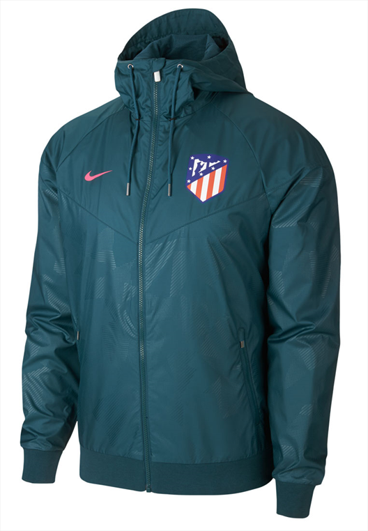 Nike Atlético Madrid Fanjacke Authentic Windrunner blau/pink