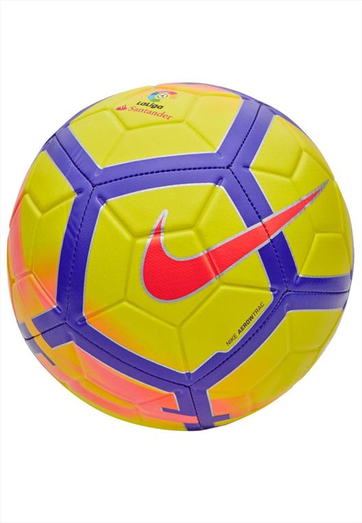 Nike Fußball Strike La Liga Größe 5 gelb/violett