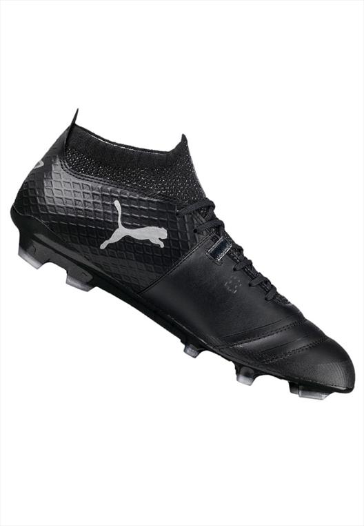 Puma Fußballschuh One 17.1 FG schwarz/silber