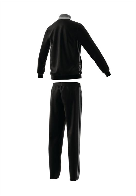 adidas Kinder Trainingsanzug Condivo 16 schwarz/grau