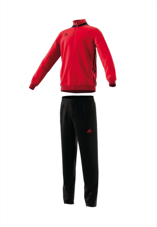 adidas Kinder Trainingsanzug Condivo 16 rot/schwarz