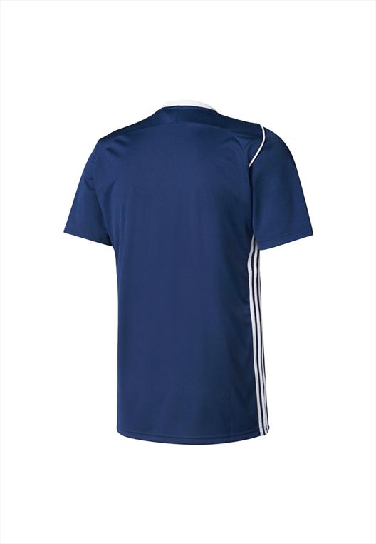 adidas Kinder Shirt Tiro 17 Training Jersey dunkelblau/weiß