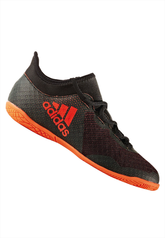adidas Kinder Hallenschuh X Tango 17.3 IN J schwarz/orange