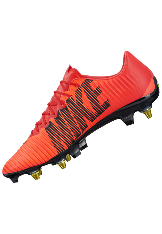 Nike Fußballschuh Mercurial Vapor XI Anti Clog SG Pro AC rot/schwarz