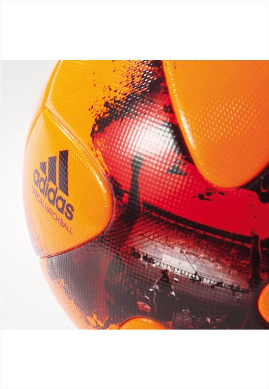adidas Matchball European Qualifiers Größe 5 orange/schwarz