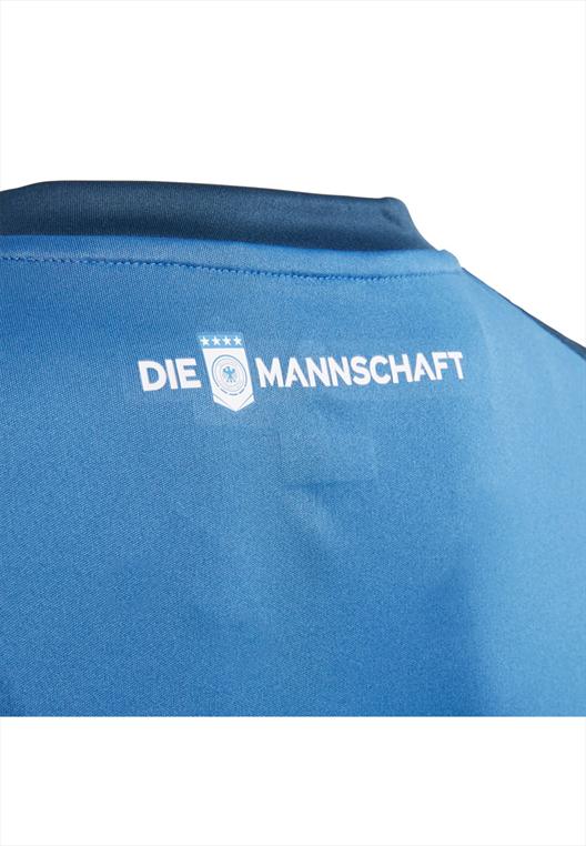 adidas Deutschland Herren Heim Torwarttrikot 2017/18 dunkelblau/blau