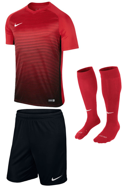 Set Nike Precision rouge/noir