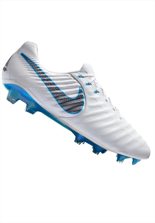 Nike Fußballschuh Tiempo Legend VII Elite FG weiß/blau