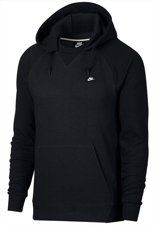 Nike Kapuzenpullover Sportswear Optic Fleece schwarzweiß