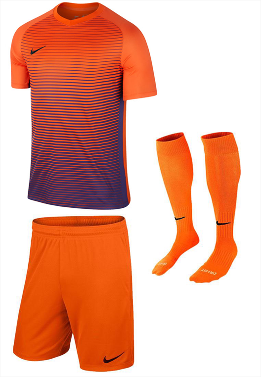 Nike Dressenset Precision orange/violett