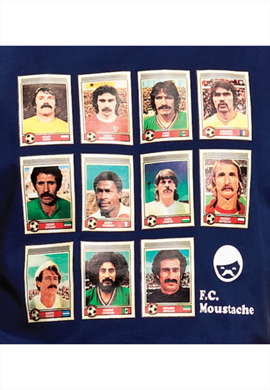 Copa Shirt Moustache Dream Team dunkelblau