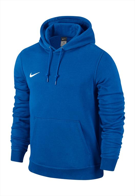 Nike Kapuzenpullover Team Club Hoody blau/weiß