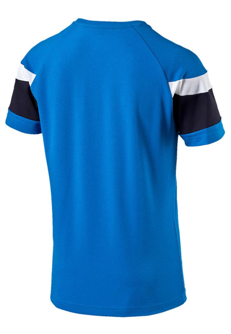 Puma Trainingsshirt Spirit II Training Jersey blau/weiß