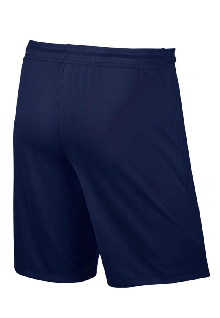 Nike Short Park II Knit ohne Innenslip dunkelblau/weiß