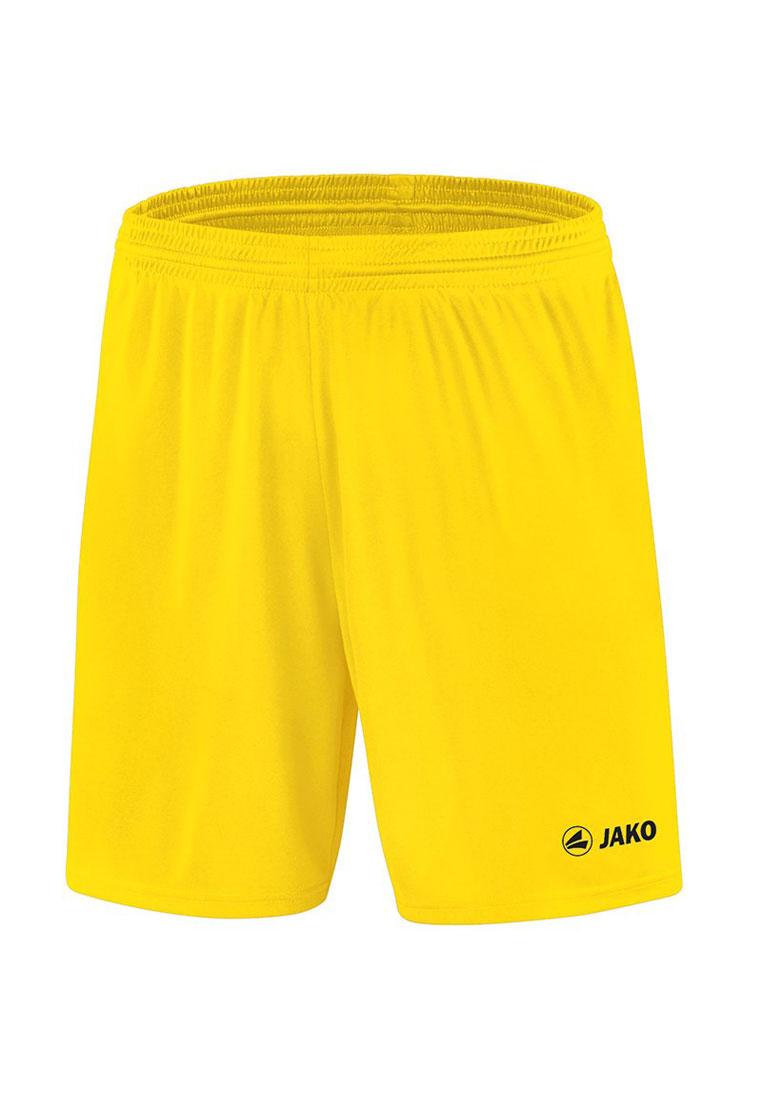 Jako Sporthose Manchester ohne Innenslip mit Jako Logo gelb