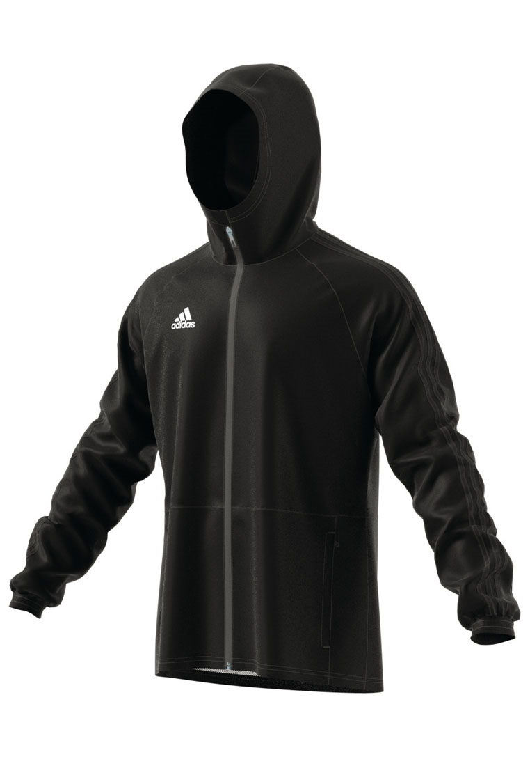 adidas Regenjacke Condivo 18 schwarz/weiß